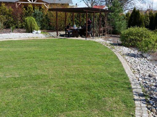 Ogród prywatny w otominie gdańskim