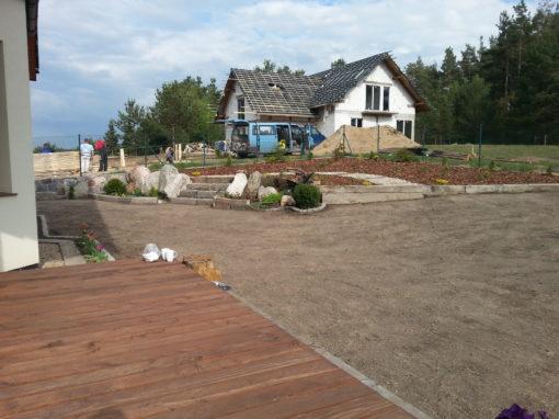 Ogród prywatny w Sulminie