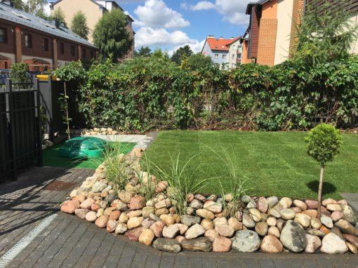 Gdańsk Osowa ogród prywatny