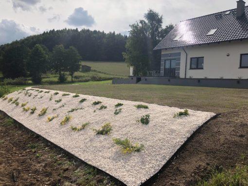 Rąty ogród prywatny