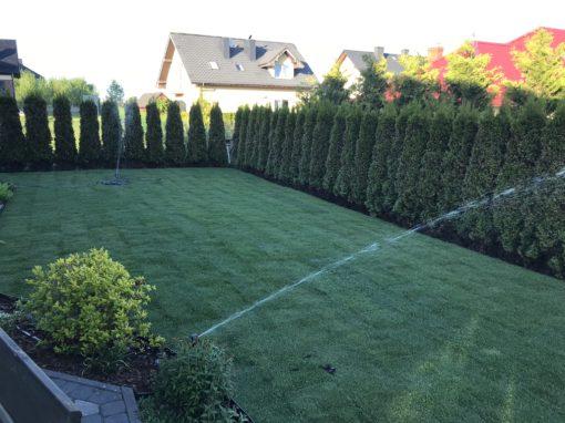 Ogród prywatny Żukowo