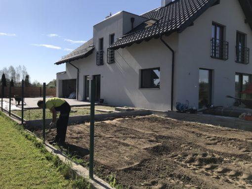 Rębiechowo ogród prywatny