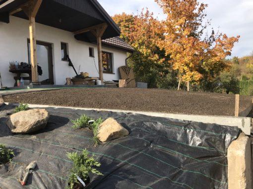 Orunia ogród prywatny