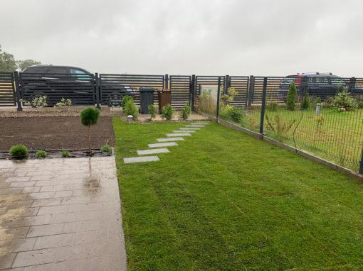 Czaple ogród prywatny